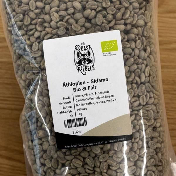 Rohkaffee Sidamo aus Äthiopien