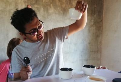 Kaffeebohnen Burma