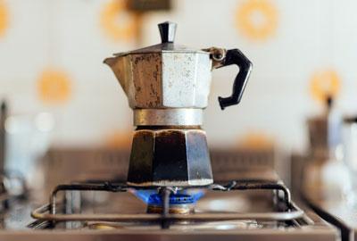 Kaffeeröstung Bialetti
