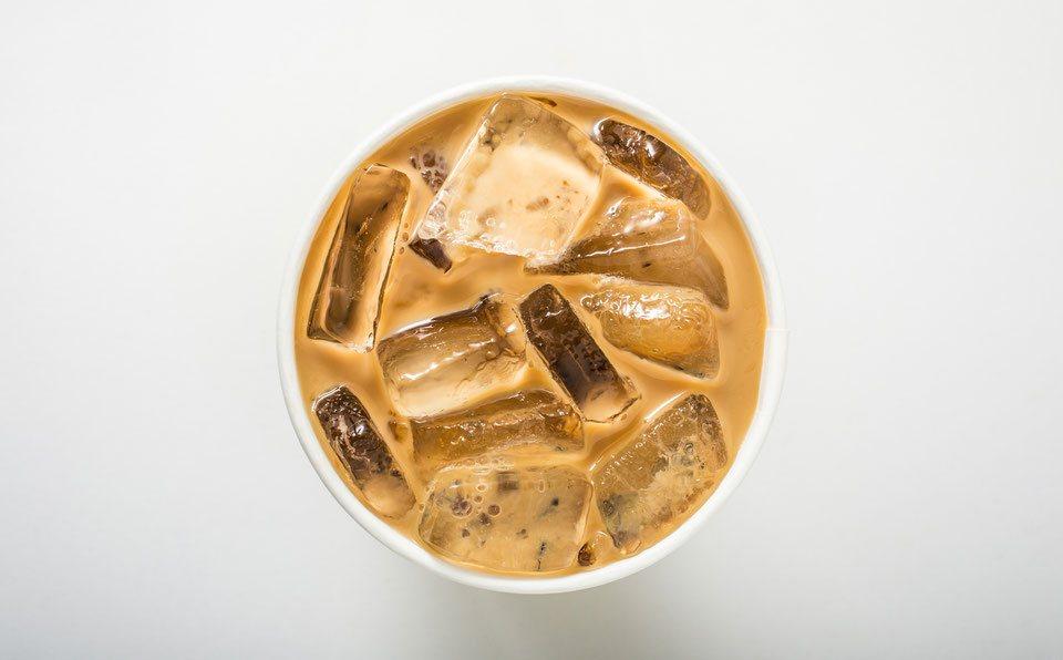 Iced Latte Zubereitung