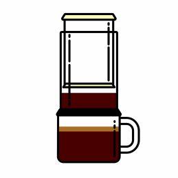 Kaffee rösten für Aeropress