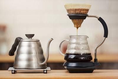 Kaffeeröstung Filter