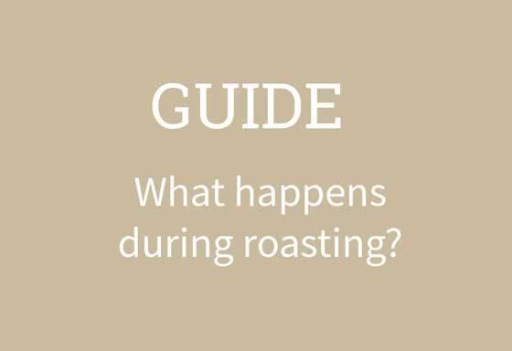what happens coffee roasting