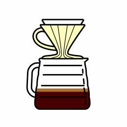 Kaffee rösten für Filterkaffee