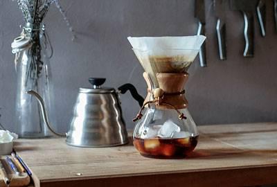 Kaffeeröstung für Iced Coffee