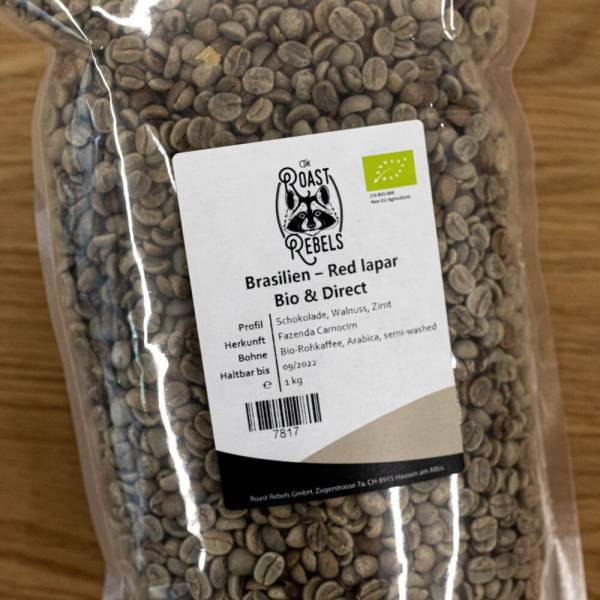 Brasilien Bio Iapar Rohkaffee