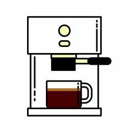 Kaffee rösten für Espresso