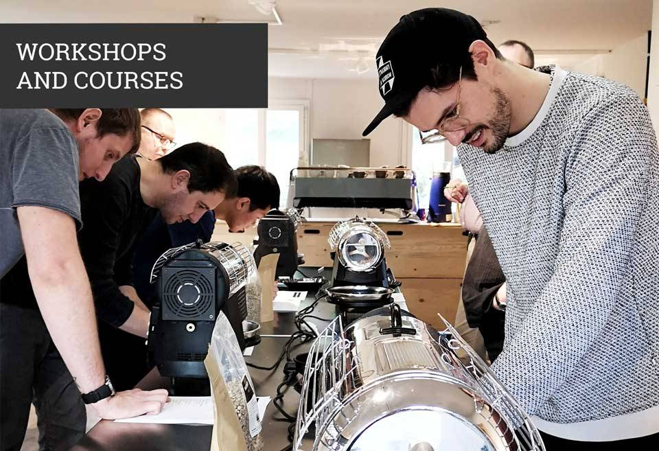 workshop and courses coffee roasting