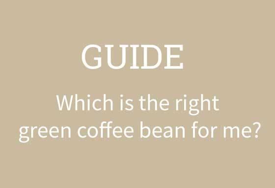 which raw coffee bean